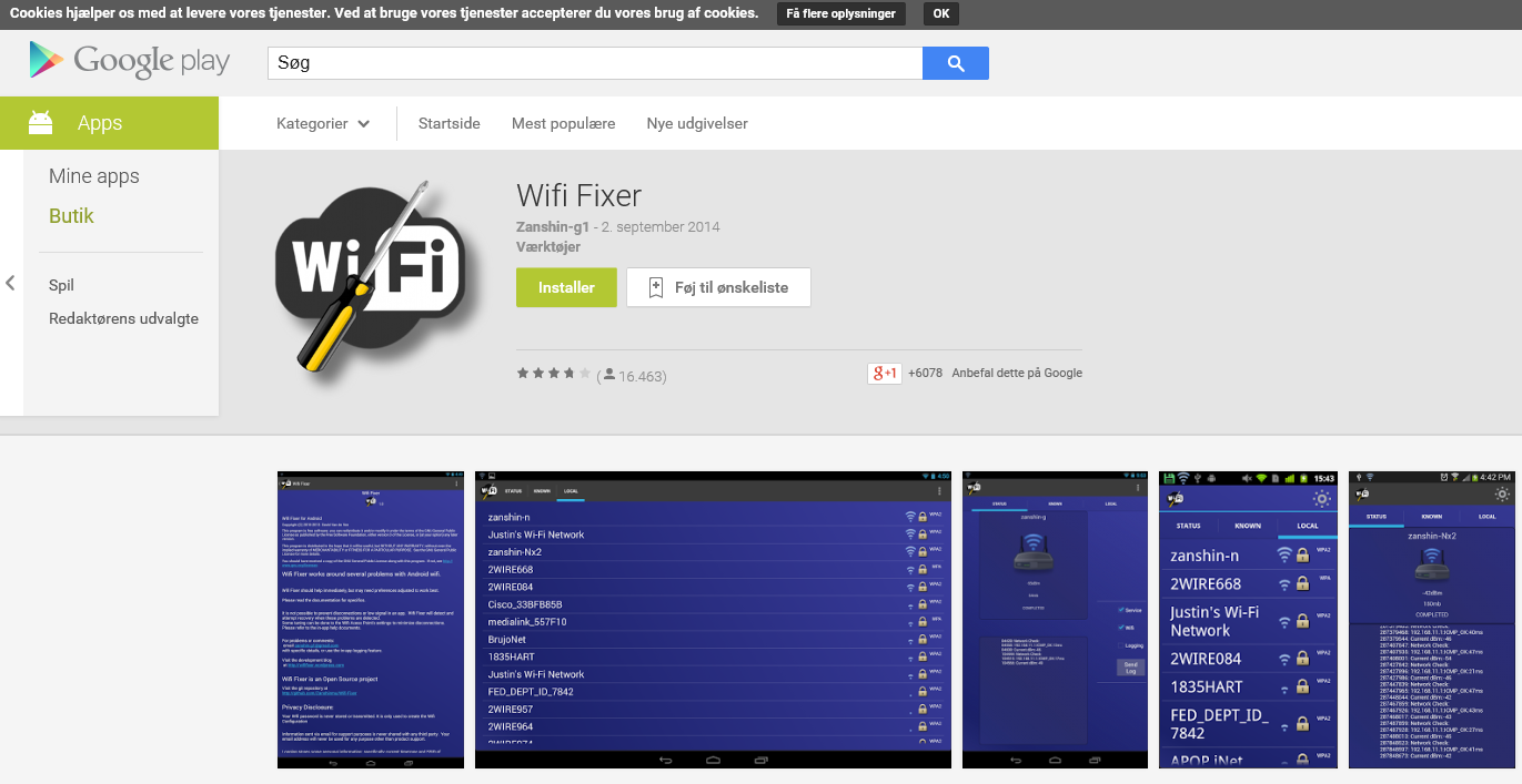 Wifi Fixer Android App | Apps Directories